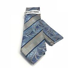 "Stacy Adams Men's Tie Pocket Square Navy Royal Powder Blue Khaki Extra Long 63"""