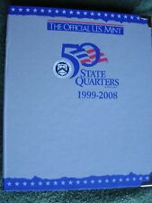 The Official U.S. Mint 50 State Quarters 1999-2008 Complete Set in Album