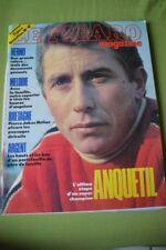 LE FIGARO MAGAZINE N°14446 21 NOV 1987 ANQUETIL HERNU FRANCE GALL