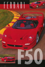 POSTER : CARS : FERRARI F50 - ROAD & TRACK -   FREE SHIPPING ! #24-739  RC44 J
