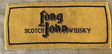Vintage Long John Scotch Whiskey British Bar Towel