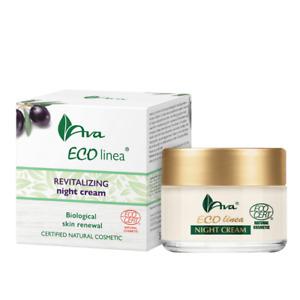 AVA® Laboratorium ECO Linea® Revitalizing Night Cream 50ml - ORGANIC COSMETICS