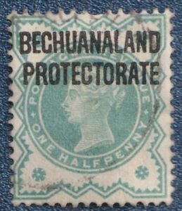BECHUANALAND PROTECTORATE  1902  1/2d   Good Used  (C02)