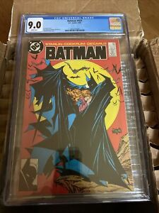 BATMAN #423 CGC 9.0 White Pages TODD MCFARLANE COVER First 1st Print Printing