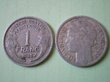 PIECE DE 1 FRANC 1949  MORLON en  ALUMINIUM
