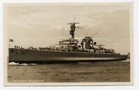 AK Panzerschiff Deutschland Marine Kriegsschiff heavy cruiser war ship