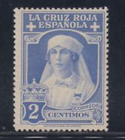 ESPAÑA (1926) NUEVO SIN FIJASELLOS MNH SPAIN - EDIFIL 326 (2 cts) CRUZ ROJA