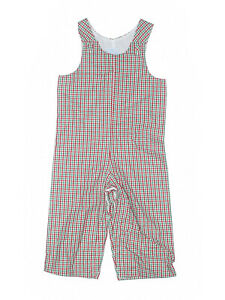 New Toddler Boy Princess Linens Green White Red Christmas Longall Romper 24 Mon