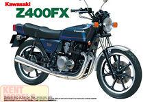 Aoshima 1/12 SCALA KAWASAKI Z400FX Kit Modellino in Plastica Bicicletta * NUOVO STOCK *