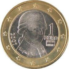 Pièces euro pour 1 euro Année 2007