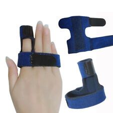 Finger Support Protector Splint Brace Belt Bandage Pain Relief Medical Trigger