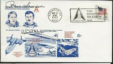 1980 Shuttle Testing Flight Cover autographed by Astronauts Sedden/Gibson