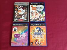 Ps2 Games Bundle. Sega Superstars , Eyetoy Play 1,2 & 3, Eyetoy Groove.