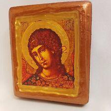 Saint Gabriel The Archangel San Gabriel Rare Byzantine Orthodox Icon OOAK