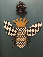My Hand Painted Bee With Mackenzie Childs Napkin!