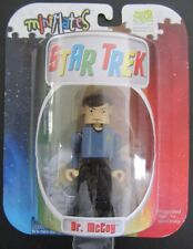 "Minimates~Star Trek~3"" Dr. McCoy~Carded~Single~Serie s 1~2002~New~Sealed"