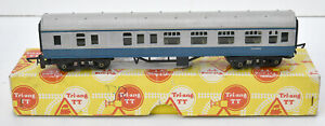 TRIANG TT BOXED BLUE AND GREY BRAKE COACH