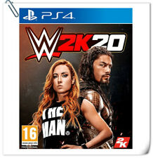 PS4 WWE 2K20 SONY PlayStation 2K Sports Games