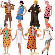 New Licensed The Flintstones Fancy Dress Costume Unisex Ladies Mens Film Bedrock