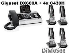 ►► Gigaset DX600A ISDN + 4 Mobilteile C430H ◄◄