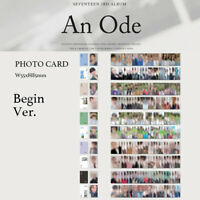 SEVENTEEN - 3rd ALBUM AN ODE BEGIN VER. PHOTO CARD