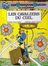 Tuniques Bleues - Les cavaliers du ciel + dossier - Lambil / Cauvin - Dupuis