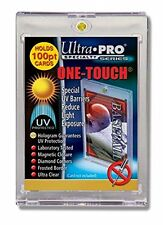 5 NEW ULTRA PRO 100 PT UV One Touch Magnetic Holder for THICK CARDS