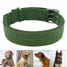 Heavy Duty Large Dog Collar Neck Buckle Large Breed Nylon Collar Adjustable XL L