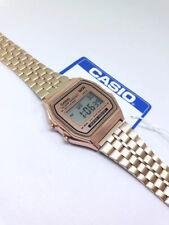 Casio Vintage A159W Retro Rose gold Stainless Steel Digital Unisex Watch