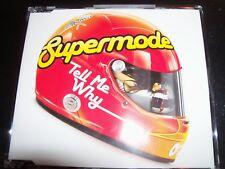 Supermode – Tell Me Why Australian Remixes CD Single – Like New
