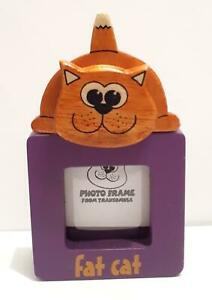 Collectable Fat Cat picture frame. New
