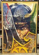 Conan The Adventurer Promo Poster Rafael Kayanan Roy Thomas 1994  B