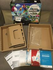 Nintendo Wii U Black Mario Bros U Console REPLACEMENT BOX ONLY PREMIUM PACK