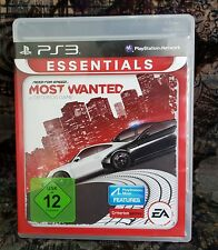 Play Station 3 Spiel PS3 Need for Speed Most Wanted + Anleitung