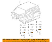 GM OEM Cab Assembly-Mount Cushion 15201791