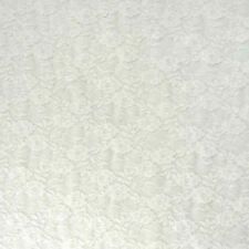 """Floral Stretch Lace Fabric Dress Material -59"""" (152cm) wide - per metre or half"""