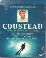 The Jacques Cousteau 3-Movie Collection Blu-ray Digitally Restored