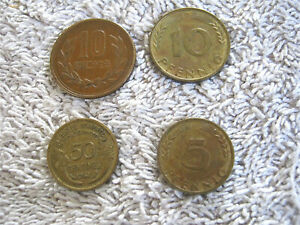 Foreign Coin 4 Lot