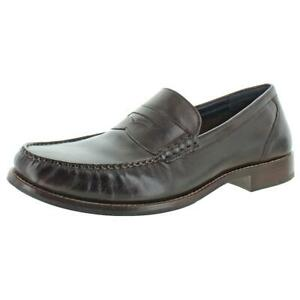 Cole Haan Mens Pinch Grand Classic Leather Slip On Penny Loafers Shoes BHFO 4843