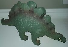 Dinosaur Bullyland Stegosaurus 1:20 Hand Painted, Soft Rubber. Made in Sri Lanka