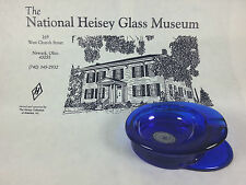 Heisey by Mosser Cobalt Blue Military Cap Ashtray