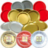 15 Paper Plates (23cm) - Available in Gold, Silver and Red - FREE P+P!!
