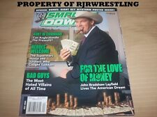 JBL JOHN BRADSHAW LAYFIELD SIGNED WWE MAGAZINE JULY 2004 WWF TNA w/COA