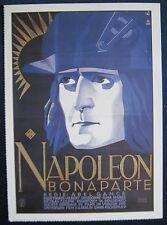 Filmplakatkarte cinema  Napoleon  von Abel Gance