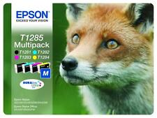 Genuine epson fox T1285  multi pack Ink Cartridges for Epson Printer Original