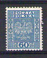 POLOGNE POLSKA Yvert n° 362 neuf avec charnière