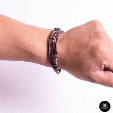 Kavak - Handmade Elegant Leather Man Adjustable Women's Bracelet
