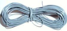 Model Railway/Railroad Layout/Point Motor etc Wire 1x15m Roll 7/0.2mm 1.4A Grey