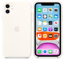White iPhone 11 6,1″ Apple Genuine Original Silicone Cover Case