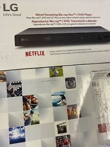 LG BLU-RAY PLAYER WITH STREAMING SERVICES BPM25 New Sealed